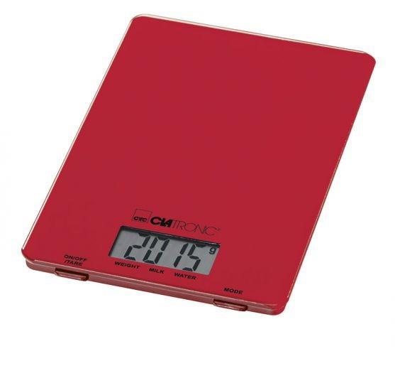 Kuchyňská váha Clatronic KW 3626, červená