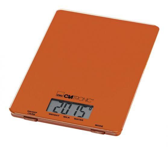 Kuchyňská váha Clatronic KW 3626, oranžová