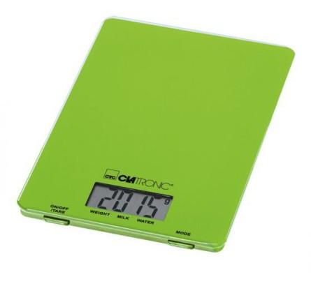 Kuchyňská váha Clatronic KW 3626, zelená