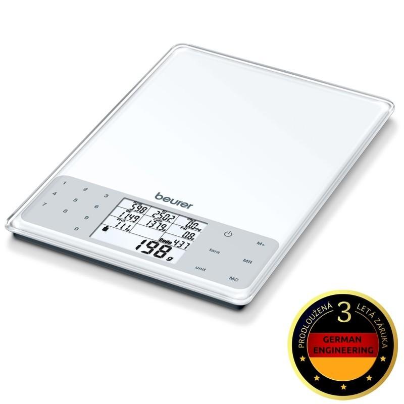 Kuchyňská váha Kuchyňská váha Beurer DS61, 5 kg, nutriční