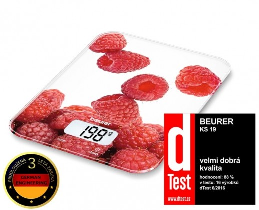Kuchyňská váha Kuchyňská váha BEURER KS 19 BERRY