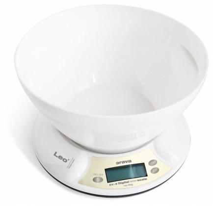 Kuchyňská váha Kuchyňská váha Orava EV-2, 5 kg, miska