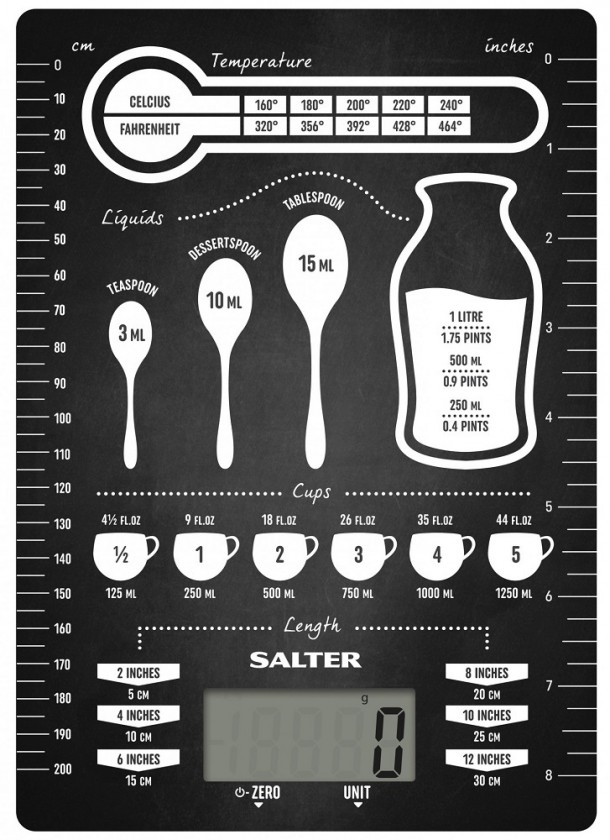 Kuchyňská váha Kuchyňská váha Salter 1171CNDR, 5kg