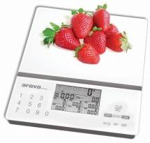 Kuchyňská váha Orava EV-8 A, 5 kg, nutriční