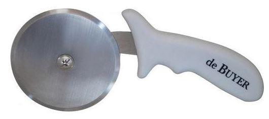Kuchyňské pomůcky Kráječ pizzy de Buyer 497010N, nerez, plastová rukojeť, 10 cm