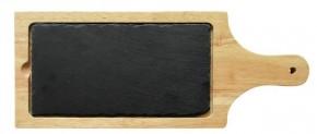 Kuchyňské prkénko s břidlicí Toro 267522, dřevěné