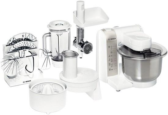 Kuchyňský robot Bosch MUM 4880 POUŽITÉ, NEKOMPLETNÍ PŘÍSLUŠENSTVÍ