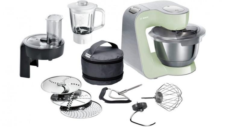 Kuchyňský robot Kuchyňský robot Bosh MUM58MG60,1000W,zelená POUŽITÉ, NEOPOTŘEBEN
