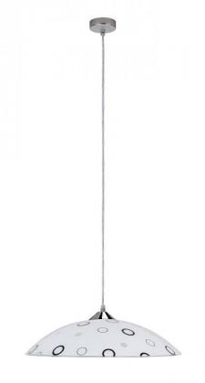 Lady - Stropní osvětlení, E27 (bílá/černá )