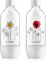 Láhev SodaStream JET Duo Pack Květiny v zimě, 2x1l