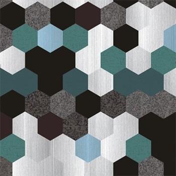 Lahti - Roh univerzální (bahama 11, sedačka/print AC1, polštáře)