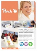 Laminovací fólie Peach S-PP525-20 lesklé 25ks Photosize, 106x156m