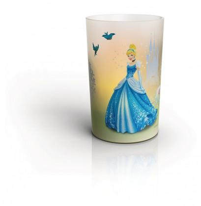 Lampička LED lampa Disney Popelka