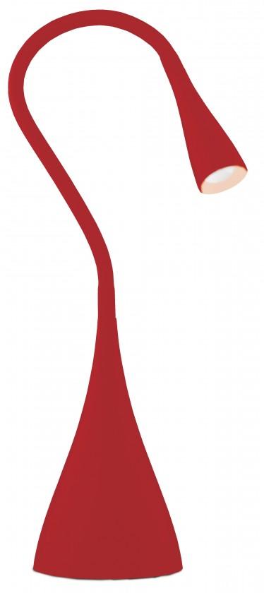 Lampička LED lampička stolní Emos DEL-1211 R červená