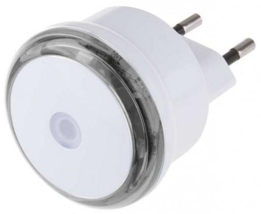 Lampička Noční světlo s fotosenzorem do zásuvky 230V, 3x LED