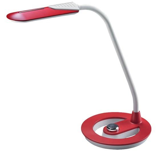 Lampička Solight WO38-R LED lampička 6W, 4100K, stmívatelná, bíločervená