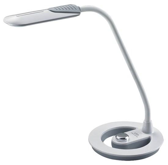 Lampička Solight WO38-W LED lampička 6W 4100K stmívatelná bílošedá