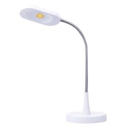 Lampička Stolní LED lampička Emos HT6105, bílá