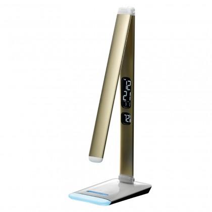 Lampičky stolní lampička led rgb m3a, zlatá