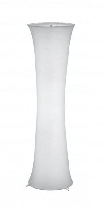 Lampy Stojací lampa Gama, 2 zdroje, látkové stínidlo, patice E27
