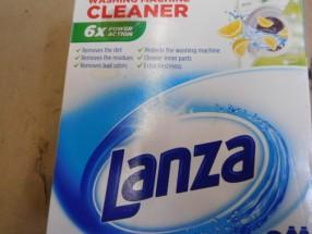 LANZA Tekutý čistič pračky LEMON 2 x 250 OBAL POŠKOZEN