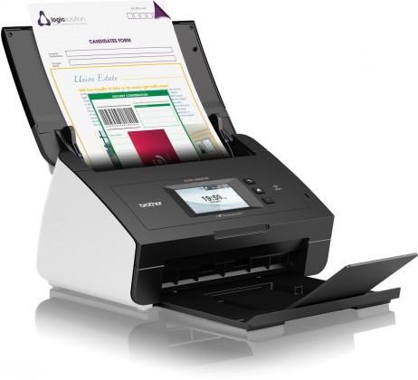 Laserová multifunkce Brother ADS-2600W vyskorychlostní oboustranný skener dokumentů, d