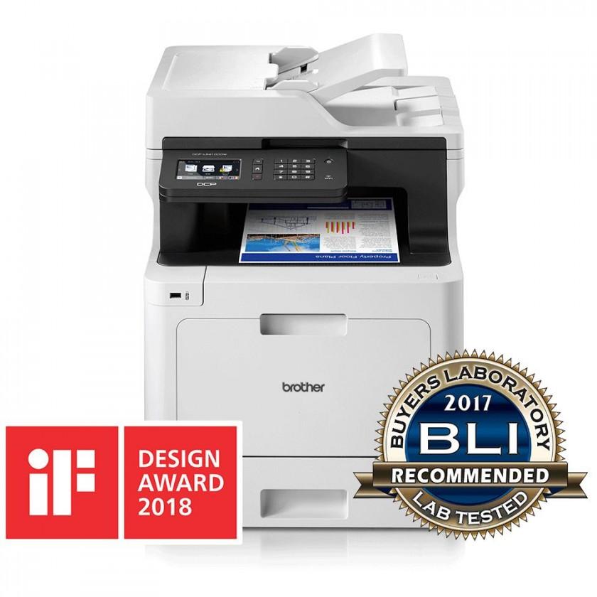 Laserová multifunkce Multifunkční laserová tiskárna Brother DCP-L8410CDW barevná