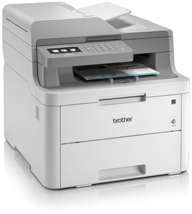 Laserová multifunkce Multifunkční LED tiskárna Brother DCP-L3550CDW barevná