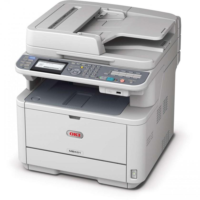 Laserová multifunkce Oki MB451dn A4, 29 ppm 600x600 dpi, USB, LAN (Print/Scan/Copy)