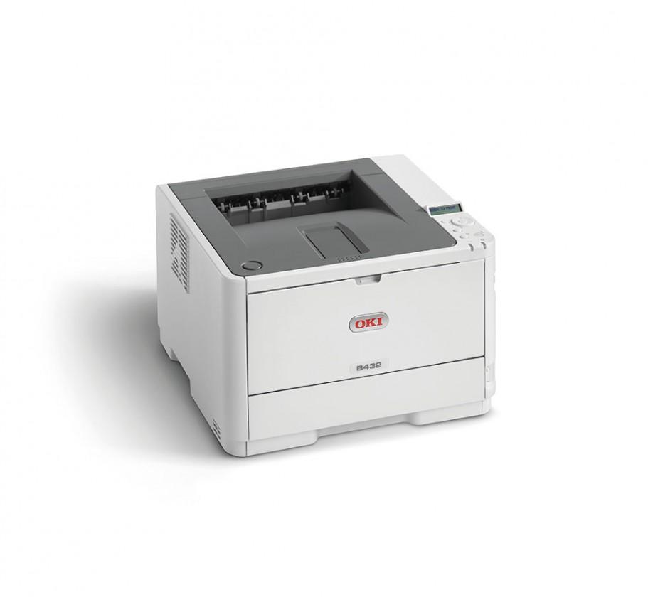 Laserová tiskárna Laserová tiskárna OKI B412dn A4, čb, 1200x1200, 33 ppm