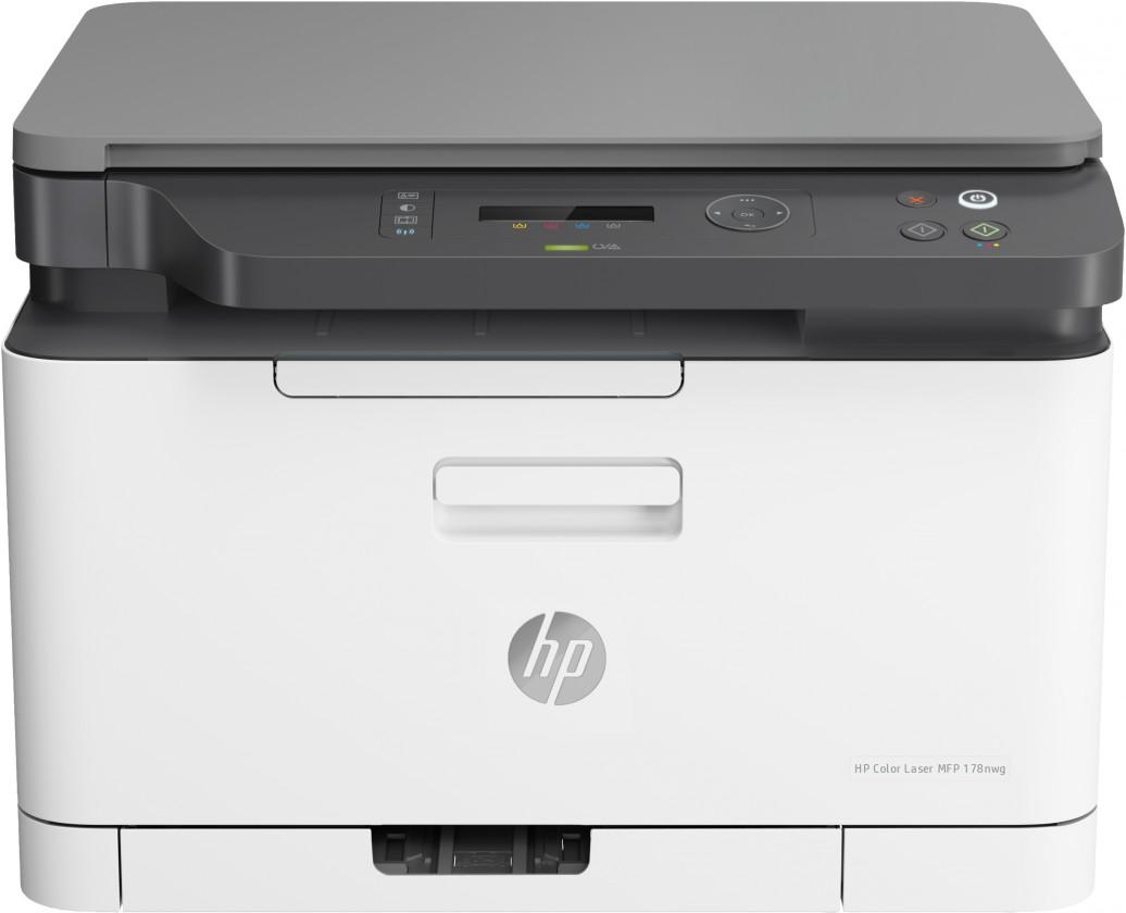 Laserová tiskárna Multifunkční laserová tiskárna HP Color Laser MFP 178nw, 4ZB96A