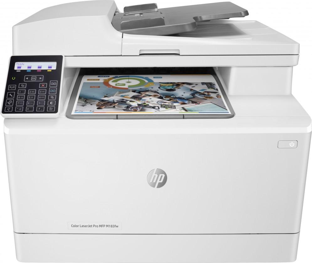 Laserová tiskárna Multifunkční laserová tiskárna HP Color LaserJet Pro MFP M183fw