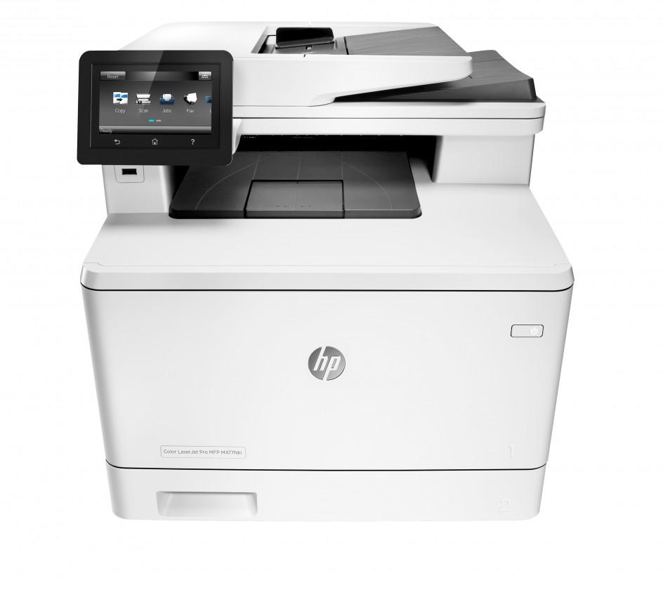 Laserová tiskárna Multifunkční laserová tiskárna HP Color LaserJet Pro MFP M477fdn