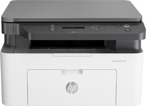 Laserová tiskárna Multifunkční laserová tiskárna HP Laser MFP 135w, 4ZB83A