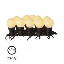 LED dekorační řetěz Emos ZY1939 50LED 10x párty, 5m POUŽITÉ, NEOP