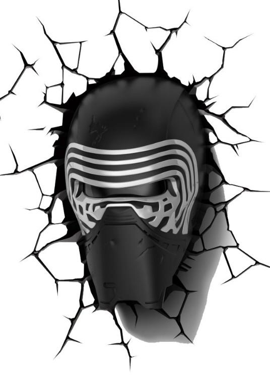 LED osvětlení 3D LIGHT FX světlo EP7 - Star Wars Kylo Renova helma