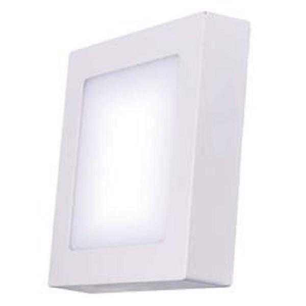 LED osvětlení LED stropní přisazené svítidlo čtverec 24W teplá bílá IP20