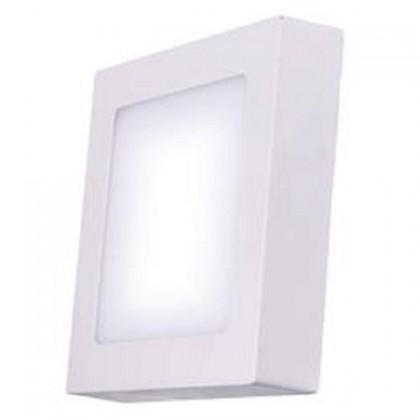 LED osvětlení LED stropní přisazené svítidlo čtverec 6W teplá bílá IP20