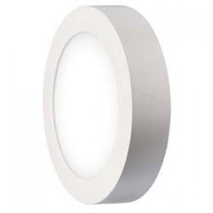 LED osvětlení LED stropní přisazené svítidlo kruh 12W studená bílá IP20