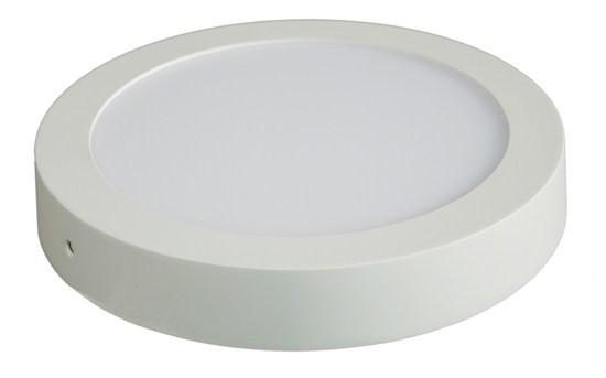 LED osvětlení Solight LED panel přisazený, 18W, 1530lm, 4000K, kulatý, bílý