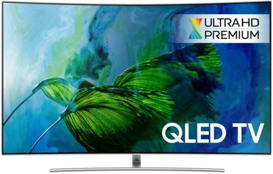 "LED televize Smart televize Samsung QW55Q8C (2017) / 55"" (138 cm) ROZBALENO"