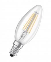 LED žárovka CL B FIL 40 non-dim 4W/827 E14 3ks