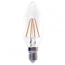 LED žárovka Emos Z74210, E14, 4W, teplá bílá