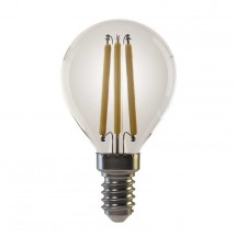 LED žárovka Emos Z74230, E14, 6w, kulatá, retro, teplá bílá