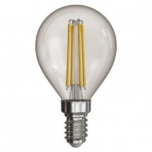 LED žárovka Emos Z74231, E14, 4W, kulatá, retro, neutrální bílá