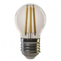 LED žárovka Emos Z74240, E27, 4W, kulatá, retro, teplá bílá