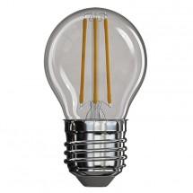 LED žárovka Emos Z74241, E27, 4W, kulatá, retro, neutrální bílá