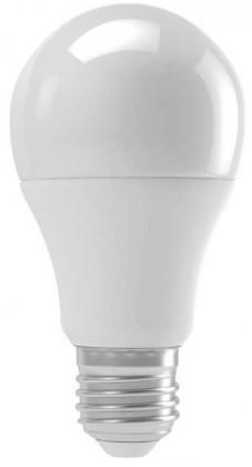 LED žárovka Emos ZQ5140, E27, 9W, kulatá, čirá, teplá bílá