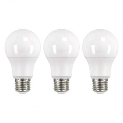 LED žárovka Emos ZQ51403, E27, 9W, teplá bílá, 3 ks