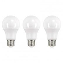 LED žárovka Emos ZQ51503, E27, 10,5W, teplá bílá, 3ks